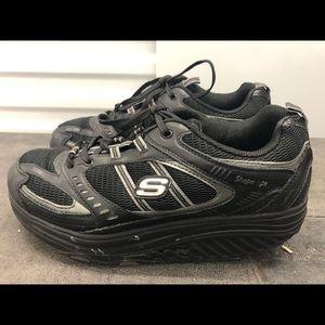 Skechers Shape Ups 11817 Black Toning Sneakers